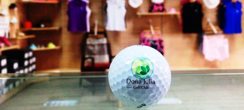 pro shop Doña Julia Golf Club, Costa del Sol