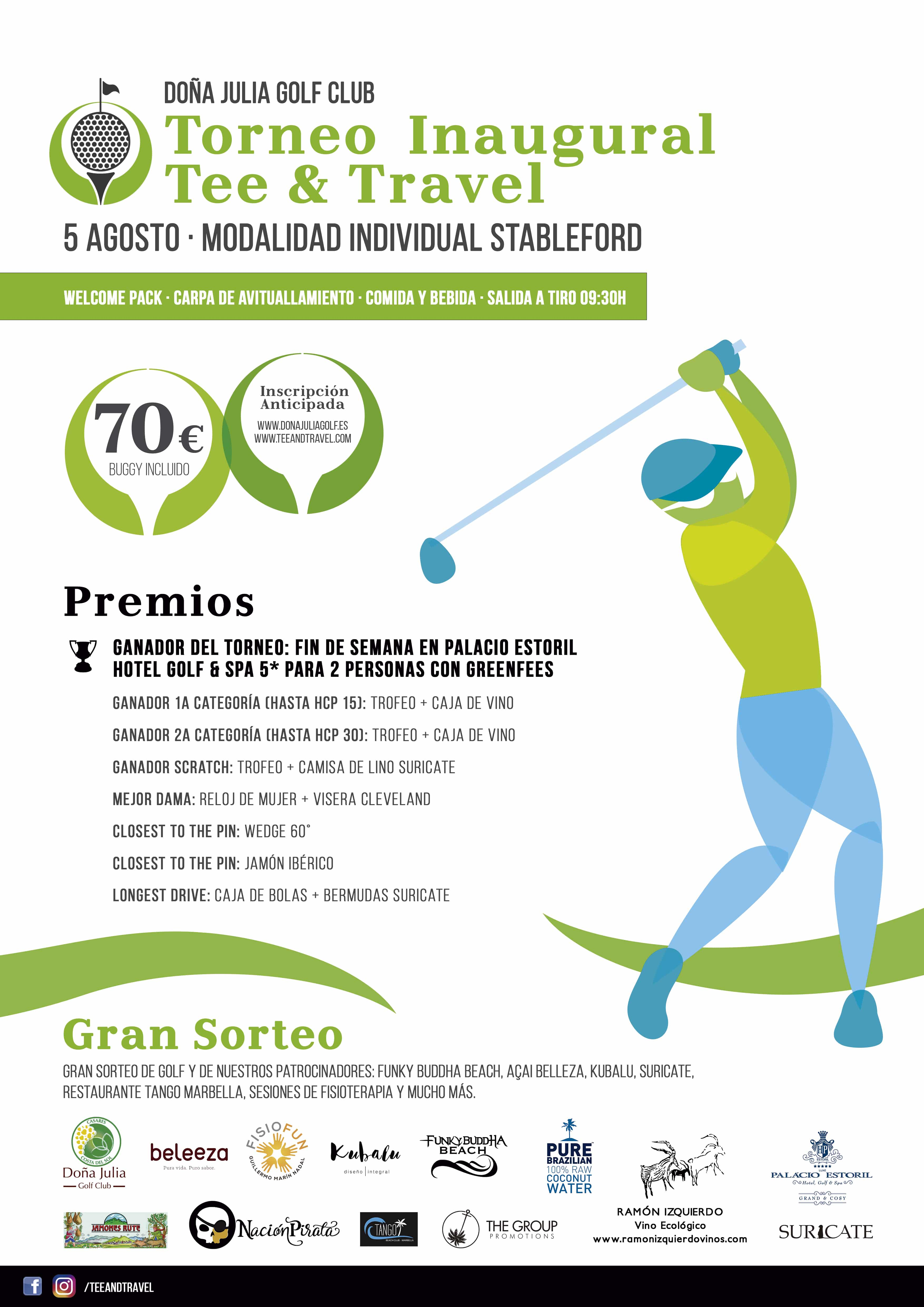 Torneo de Golf Inaugural Tee & Travel