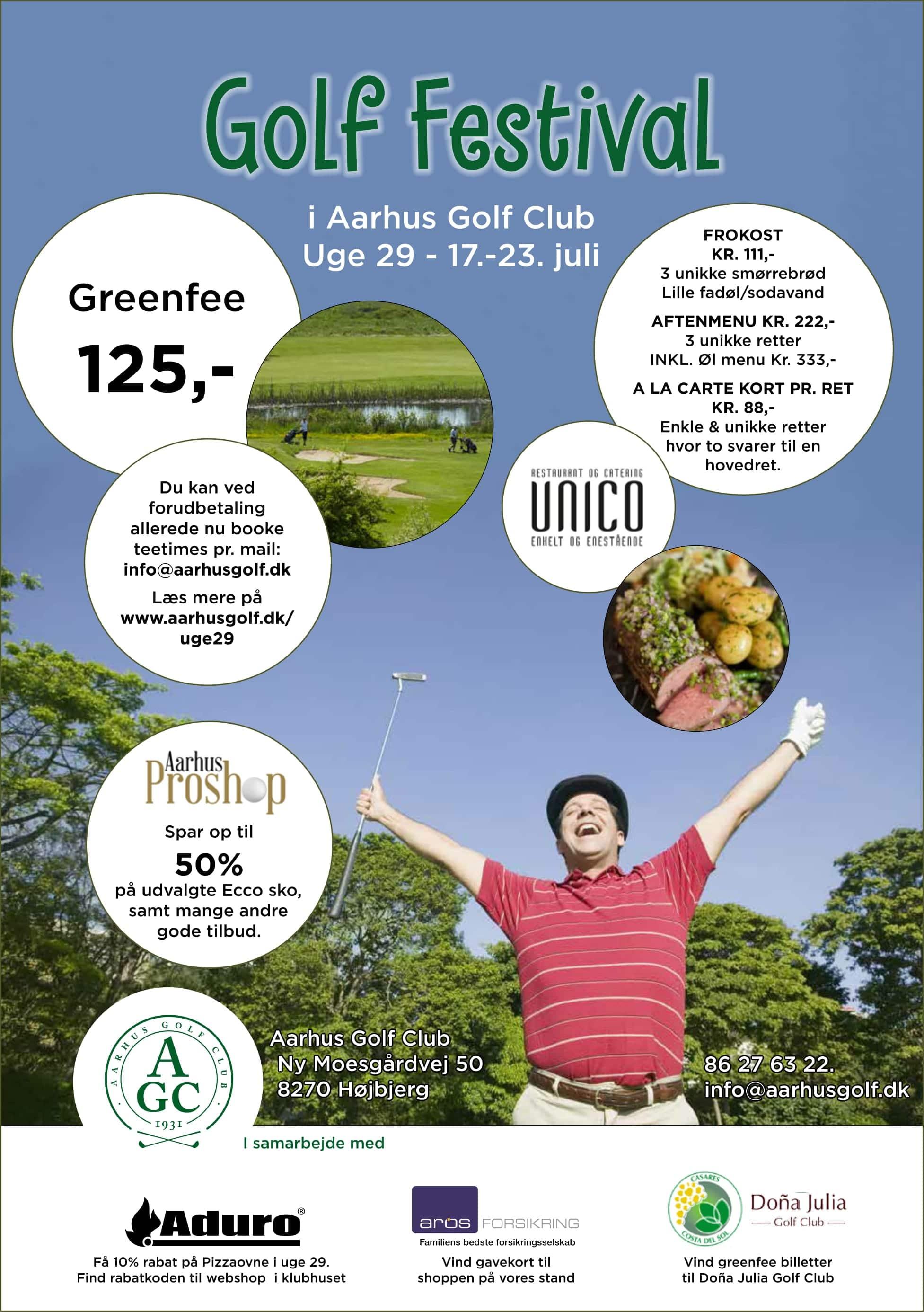aarhus golf