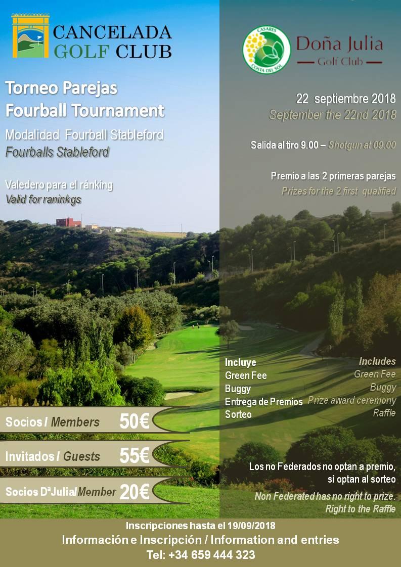 Torneo Cancela Golf