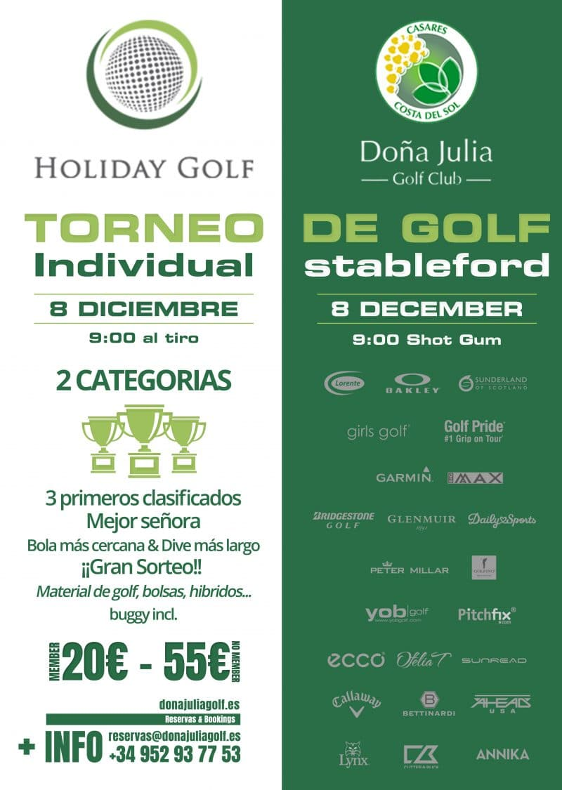 Torneo Holiday Golf