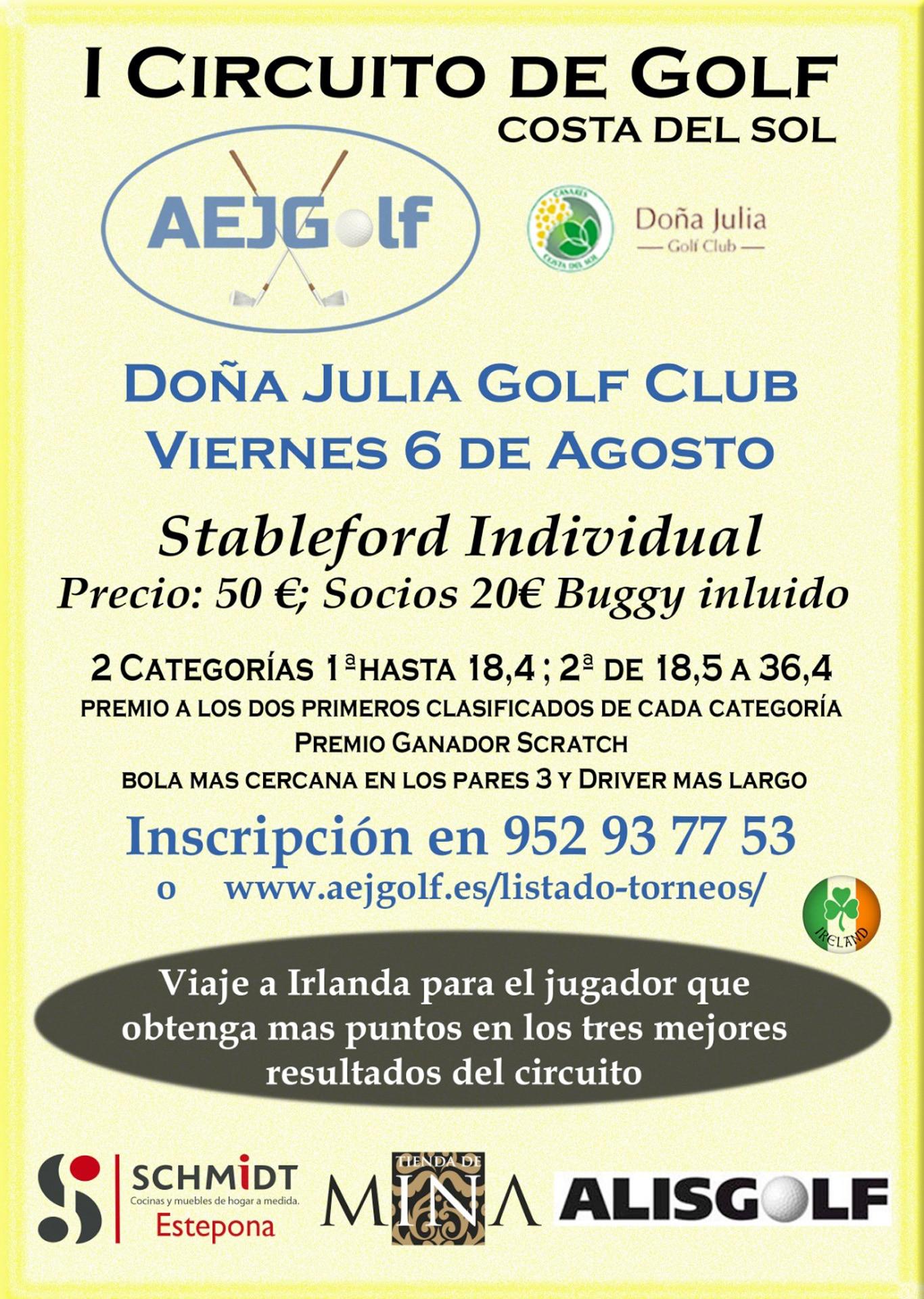 I circuito de golf costa del sol AEJGOLF
