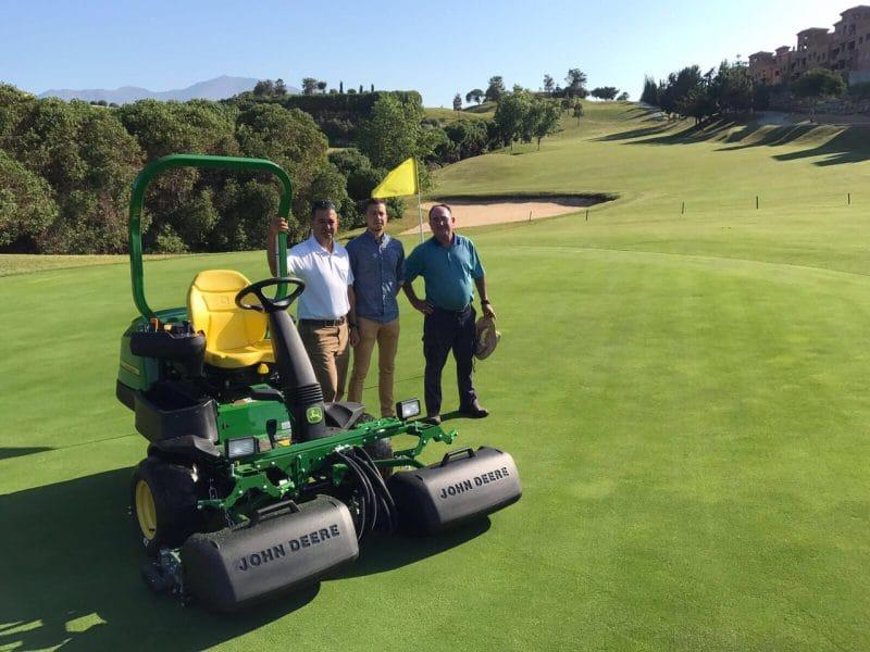 Doña Julia Golf Club, mantenimiento