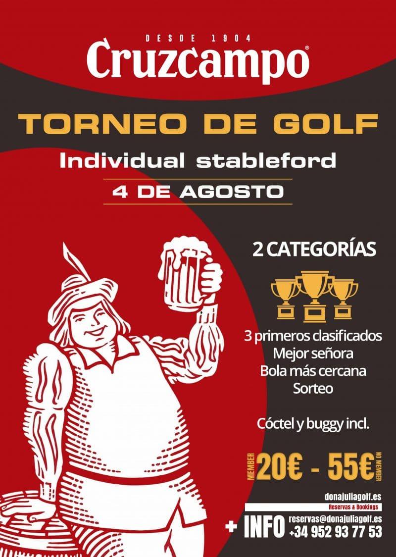 Cruzcampo Golf Tournament