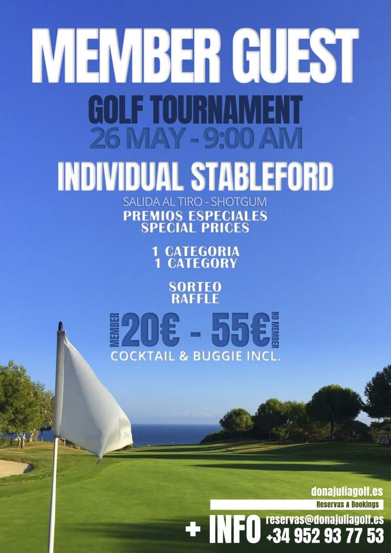Torneo de Golf Social e Invitados Abril 2018