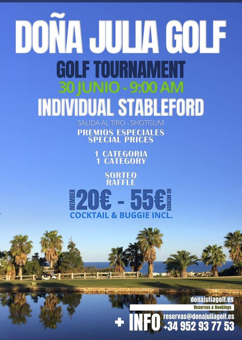 Golf Tournament June 30