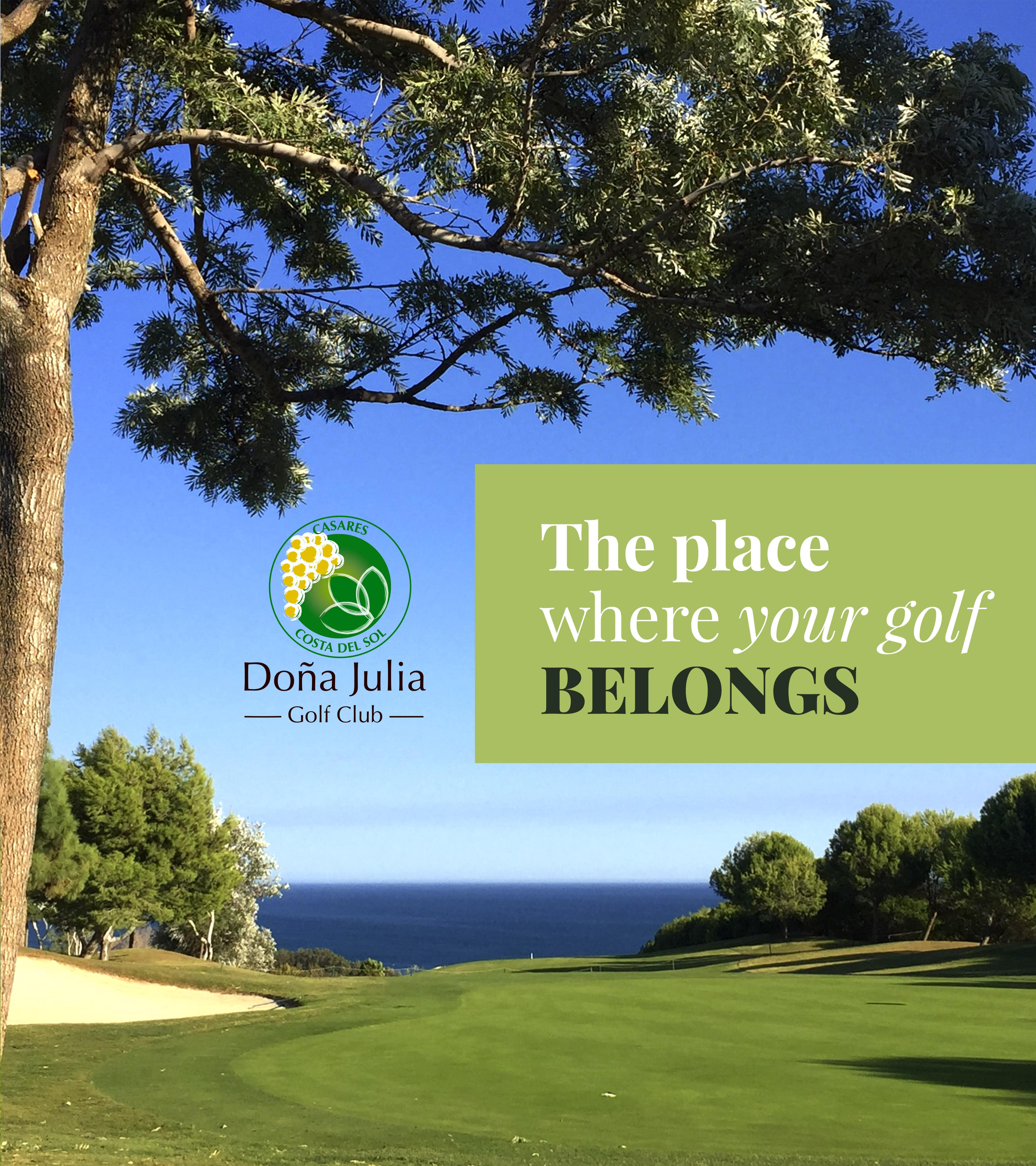 The place where your golf belongs