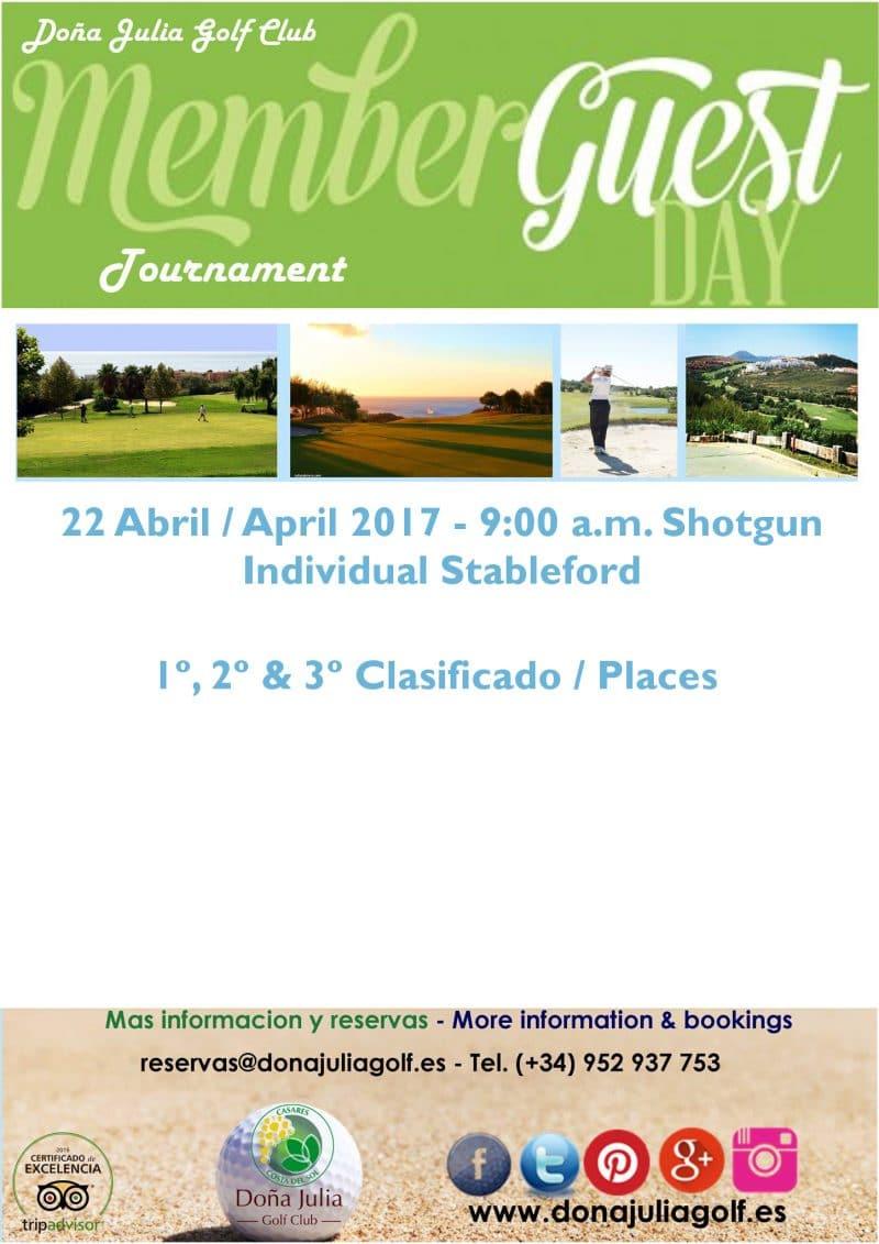 Torneo de Golf Social e Invitados Doña Julia