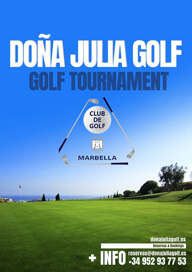 Torneo de golf en doña julia del club de golf marbella