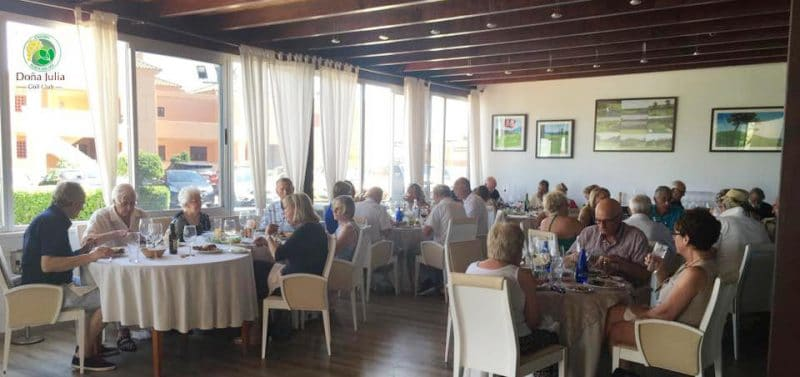 restaurant doña julia golf