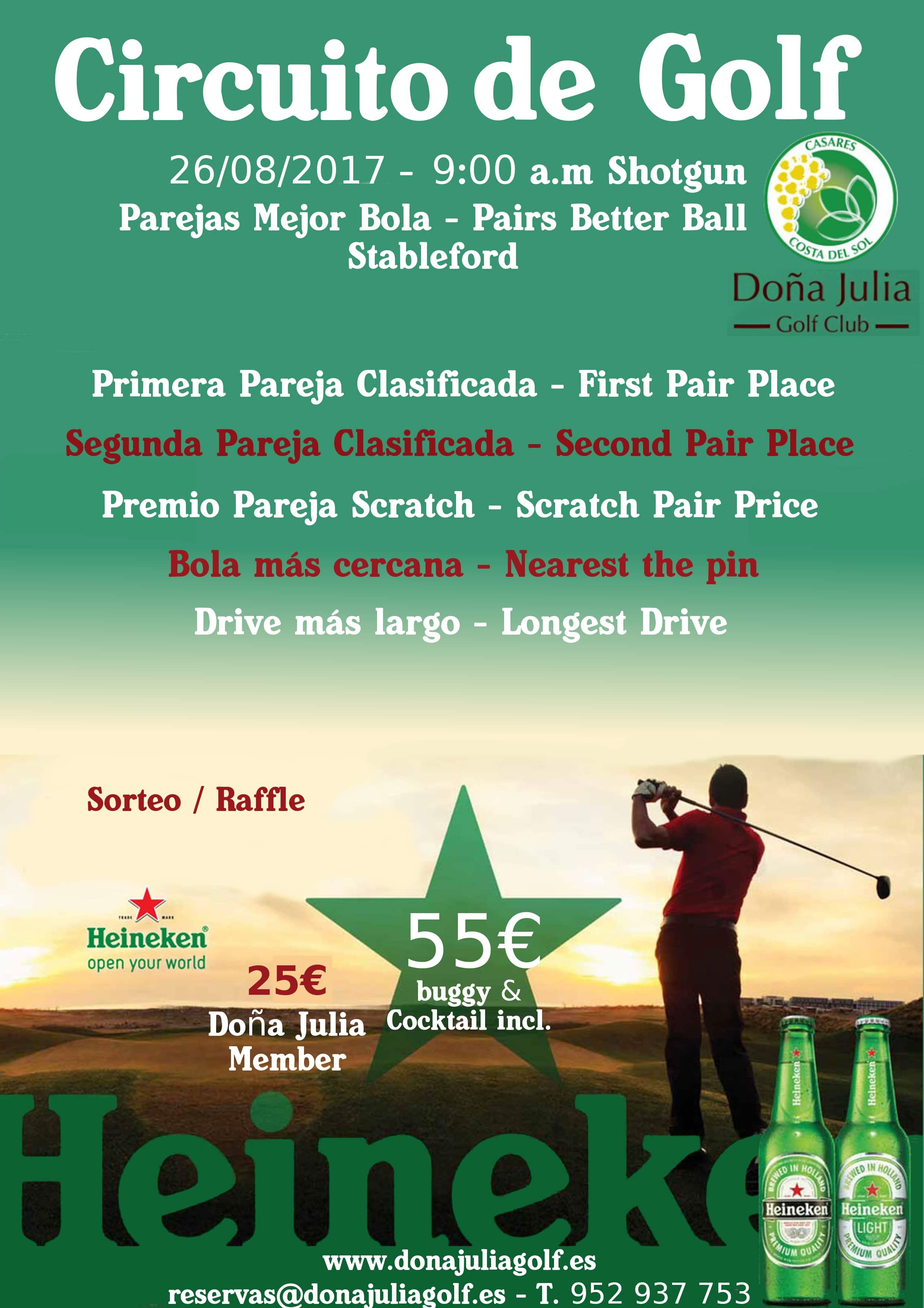 Golf Circuit Heineken